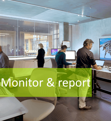 Network Security - Monitor and report