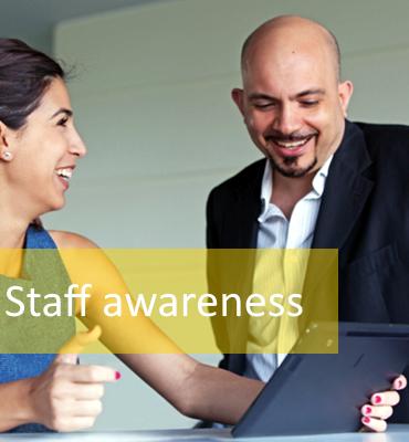 Network security - Staff awareness